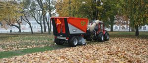 Leaf collection equipment